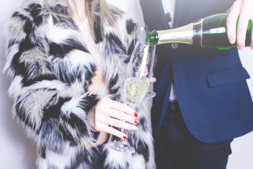 Zeit zu feiern – meinetwegen mit Schampus. (Bild: Picjumbo.com)
